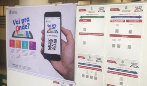 TJCE disponibiliza aplicativo que orienta população a transitar no Fórum Clóvis Beviláqua