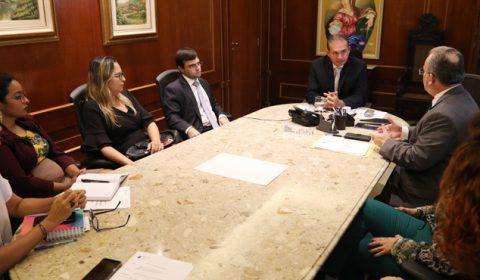 Justiça Restaurativa é tema de reunião no Gabinete da Presidência do Tribunal de Justiça