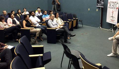 """Historiador fala sobre """"Novos tempos modernos"""" no segundo dia do Sarau Beviláqua"""