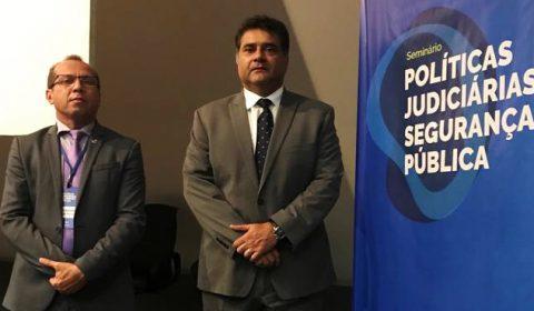 Representantes do TJCE participam de seminário sobre Segurança Pública do CNJ