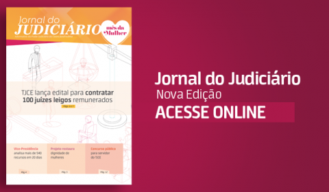 """""""Jornal do Judiciário"""" traz como matéria de capa seleção para 100 juízes leigos"""