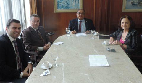Reunião na Corregedoria-Geral da Justiça discute o aprimoramento das audiências de custódia no Ceará