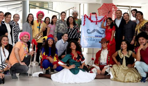 Com músicas de Chiquinha Gonzaga, Sarau Beviláqua anima manhã de frequentadores do Fórum