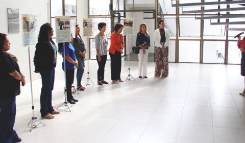 """Campanha """"Mulheres em Destaque"""" ganha exposição  no hall do Fórum Clóvis Beviláqua"""