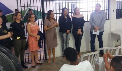 Juizado da Mulher verifica condições de presos que respondem a processos da Lei Maria da Penha
