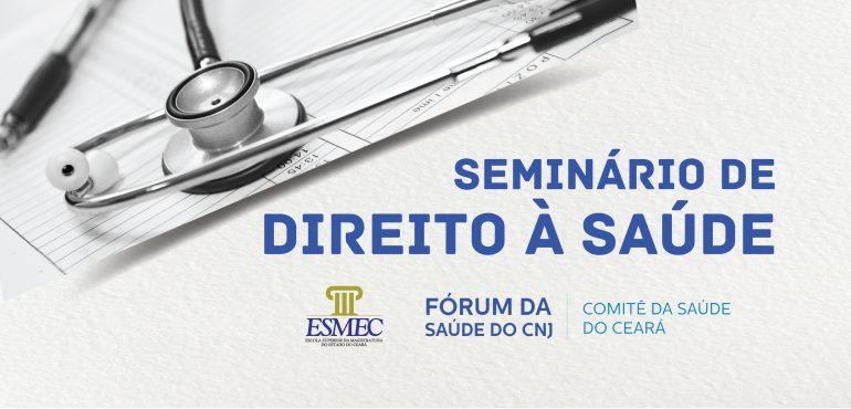 Prosseguem abertas inscrições para seminário de Direito da Saúde nesta quinta-feira em Juazeiro