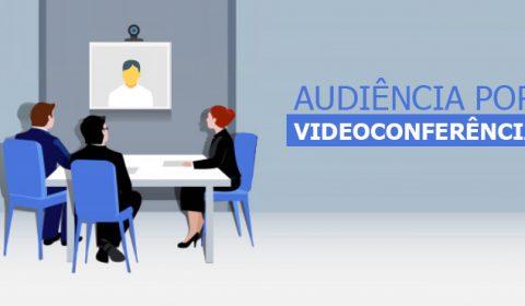 Comarca de Canindé realiza primeira audiência por videoconferência