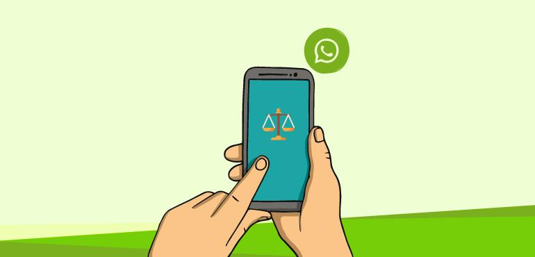 Centro de Solução de Conflitos de Fortaleza vai utilizar WhatsApp para fazer intimações