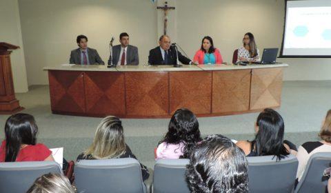 Estagiários de pós-graduação são recebidos pela Corregedoria-Geral da Justiça e pelo Fórum Clóvis Beviláqua