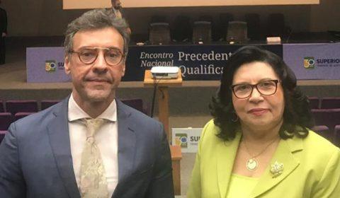 Vice-presidente do Tribunal de Justiça do Ceará participa de encontro nacional no STJ