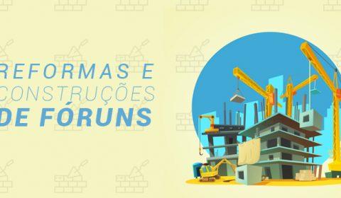 Fóruns de Icó, Viçosa do Ceará e Trairi passam por reforma para receber novas varas
