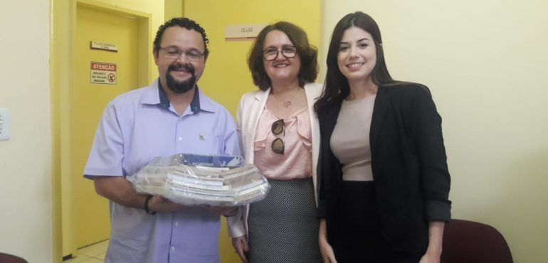 """NUPEMEC inicia projeto """"Justiça Literária"""" no interior do Estado"""