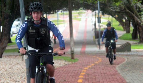 Policiamento com bicicletas reforça segurança do Tribunal de Justiça