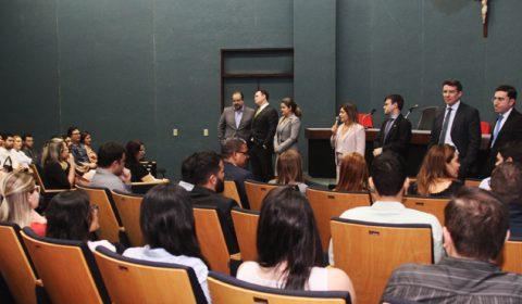 Estagiários de pós-graduação são recebidos pela Diretoria do Fórum Clóvis Beviláqua