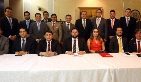 Advogados da região Centro-Sul do Ceará são recebidos pelo presidente do TJCE