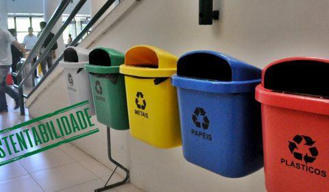 Sustentabilidade: Fórum Clóvis Beviláqua envia 22 toneladas por mês de resíduos para destinação correta