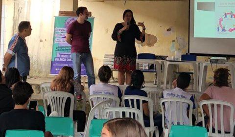 Juizado participa de evento em escola pública e conscientiza alunos sobre igualdade de gênero