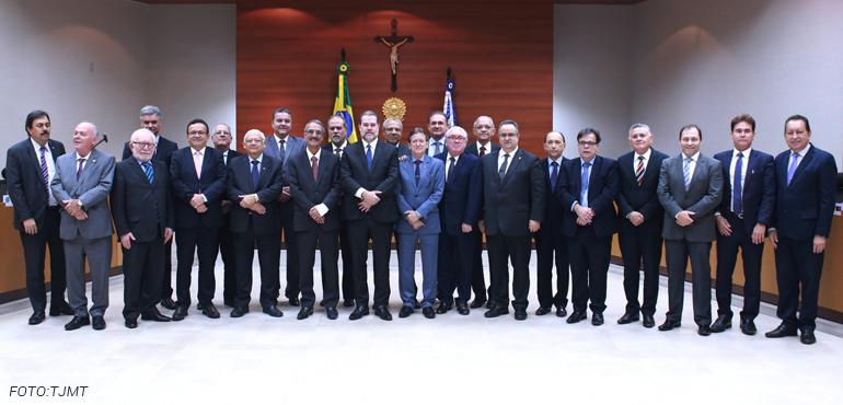 Presidente do TJCE participa de reunião em Cuiabá com demais chefes das Justiças estaduais