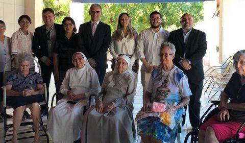 Juiz se desloca até convento para realizar audiência de interdição que beneficia seis freiras