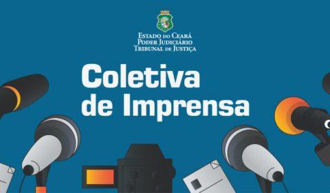 Coletiva de imprensa: TJCE anuncia nesta quarta-feira resultados do Programa Celeridade