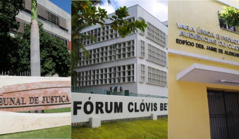 Plantão no feriado atende no Tribunal de Justiça, Fórum de Fortaleza e Vara de Audiências de Custódia