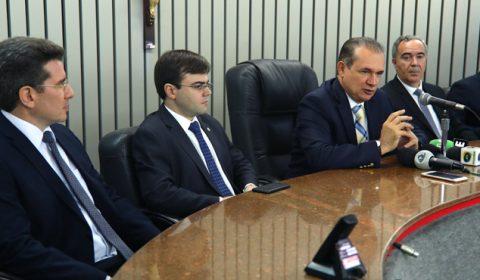 Presidente do TJCE anuncia aumento de 37% da produtividade do Judiciário durante coletiva