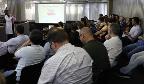 """Ações da campanha """"Setembro Amarelo"""" prosseguem no Tribunal e Fórum Clóvis Beviláqua"""