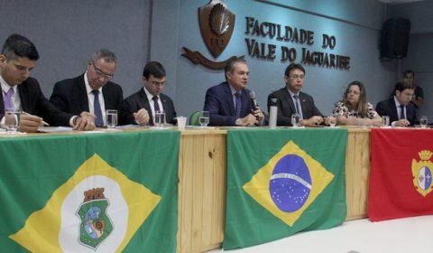 Em visita a Aracati, presidente do TJCE anuncia que deve ampliar investimentos na 12ª Zona Judiciária