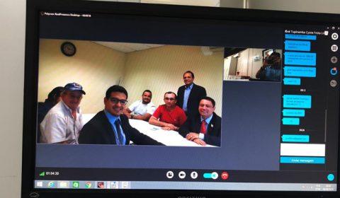 Cejusc do TJCE incrementa uso de videoconferência em audiências de conciliação