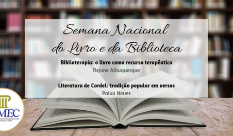 Escola da Magistratura programa palestras para incentivar leitura e manifestações artísticas
