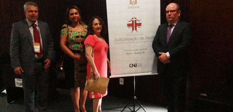 Juízes cearenses participam de curso do CNJ sobre judicialização da saúde