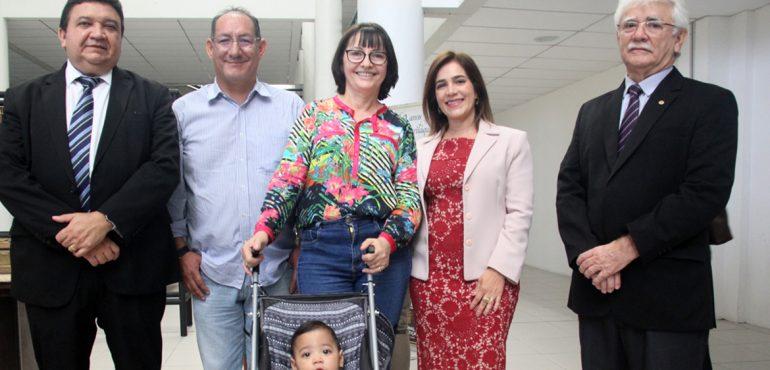 Fórum Clóvis Beviláqua disponibiliza carrinhos de bebê para usuários da Justiça