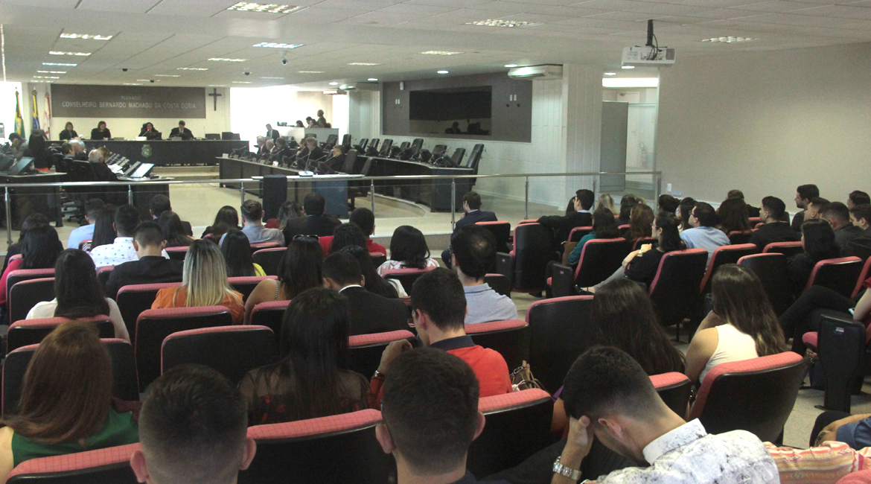 Tribunal de Justiça promove visita técnica para alunos de Pós-Graduação em Direito da Unifor