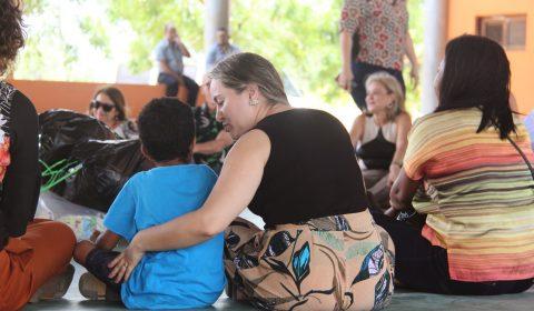 Pretendentes à adoção visitam abrigo em ação do Judiciário pelo Dia das Crianças