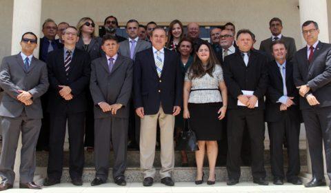 Presidente do TJCE destaca priorização de investimentos no Interior durante visita ao Cariri