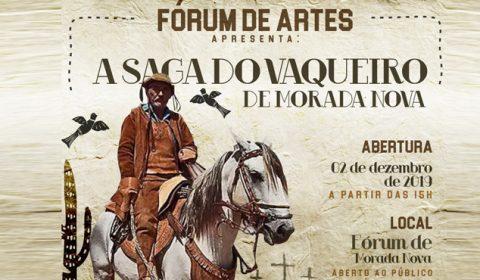 """Exposição """"A Saga do Vaqueiro"""" será aberta nesta segunda-feira em Morada Nova"""
