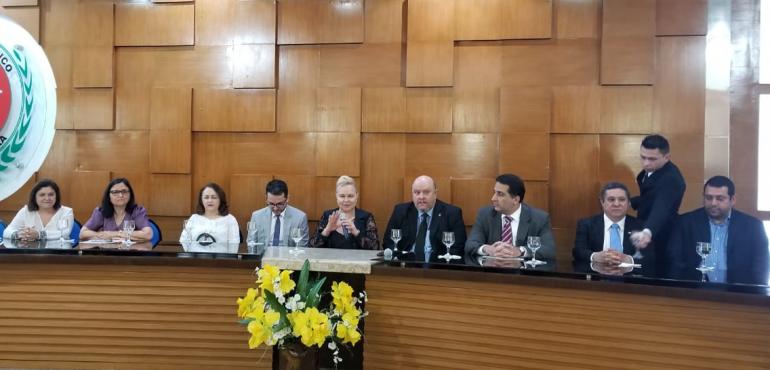 Juíza participa de evento que discutiu organização e transparência nas listas do SUS