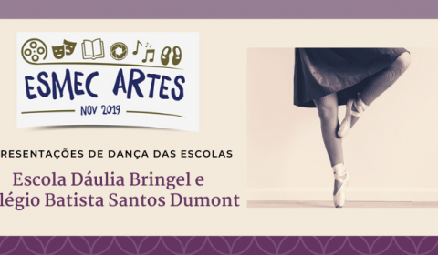 Apresentações de dança e teatro fazem parte da programação Esmec Artes 2019
