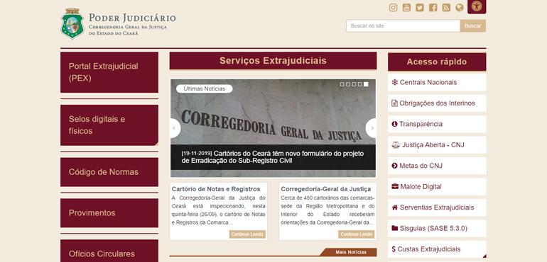 Corregedoria disponibiliza nova página para facilitar comunicação entre cartórios e população