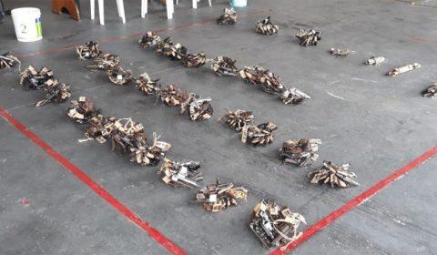 Assistência Militar envia 2.439 armas de fogo para destruição este ano