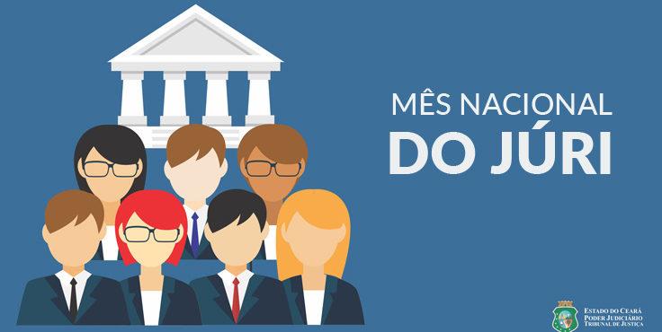 TJCE é o segundo do país em número de sessões realizadas no Mês Nacional do Júri