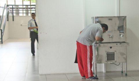 Fórum Clóvis Beviláqua disponibiliza bebedouros de uso público