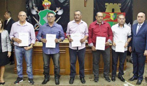 Policiais e bombeiros da reserva são homenageados pela Assistência Militar do TJCE