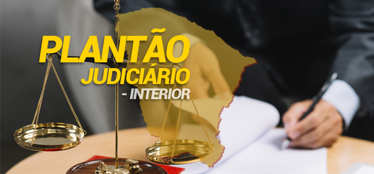 20 Núcleos Regionais atuam no plantão do Judiciário no Interior