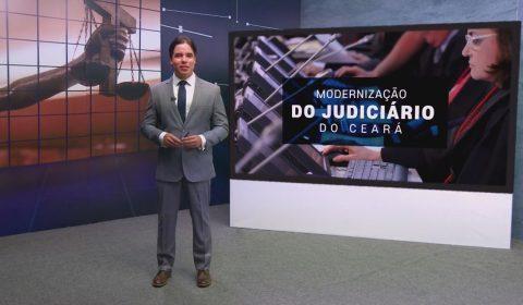 """Programa de Modernização da Justiça do Ceará é tema desta edição do """"Judiciário em Evidência"""""""