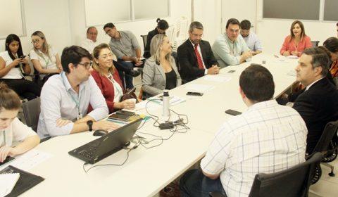 Requalificação do entorno do Fórum Clóvis Beviláqua é discutida por TJCE, Prefeitura e outras instituições