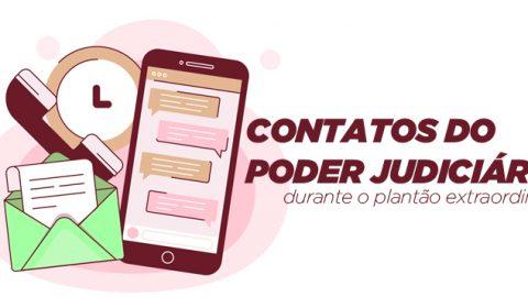 Tribunal de Justiça do Ceará disponibiliza contatos das unidades da Capital e Interior
