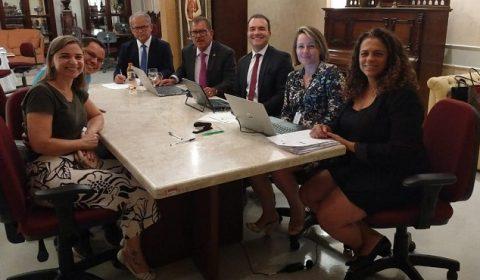 TJCE: apoio e transparência durante visita da Corregedoria Nacional de Justiça