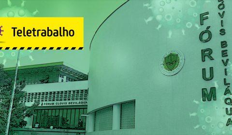 Fórum Clóvis Beviláqua orienta sobre funcionamento das unidades judiciárias da Capital durante plantão extraordinário