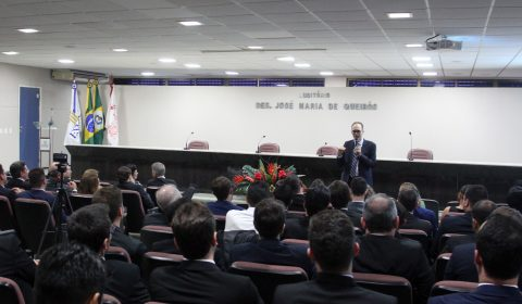 Aula magna do curso de formação aborda os desafios para o futuro da magistratura